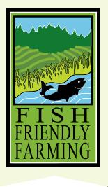fish friendly farming icon